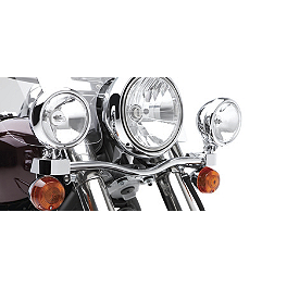 Kawasaki Genuine Accessories Light Bar - Chrome - 2011 Kawasaki Vulcan 900 Classic - VN900B Kawasaki Genuine Accessories Plain Gel Seat
