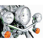 Kawasaki Genuine Accessories Light Bar - Chrome - Kawasaki OEM Parts Cruiser Light Bars