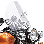Kawasaki Genuine Accessories Short Windshield - Kawasaki OEM Parts Cruiser Wind Shield and Accessories