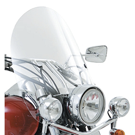 Kawasaki Genuine Accessories Touring Windshield - Kawasaki Genuine Accessories Short Windshield