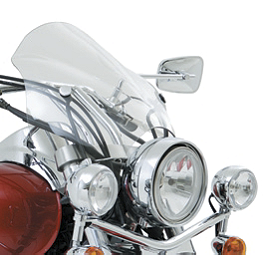 Kawasaki Genuine Accessories Cafe Windshield - Kawasaki Genuine Accessories Short Windshield
