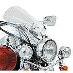 Kawasaki Genuine Accessories Cafe Windshield - Kawasaki OEM Parts Cruiser Wind Shield and Accessories