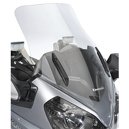 Kawasaki Genuine Accessories Tall Windshield - Kawasaki Genuine Accessories Expandable Soft Top Case