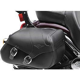 Kawasaki Genuine Accessories Saddlebags - Plain - Kawasaki Genuine Accessories Saddlebags With Mount Kit