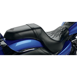 Kawasaki Genuine Accessories Flame Stitch Gel Seat - Kawasaki Genuine Accessories Front Axle Cover