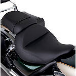 Kawasaki Genuine Accessories Rider Gel Seat - Plain - Cruiser Products