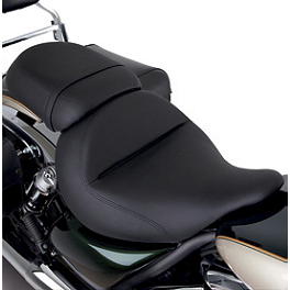 Kawasaki Genuine Accessories Passenger Gel Seat - Plain - Mustang Sissy Bar Pads 12