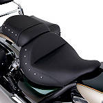 Kawasaki Genuine Accessories Rider Gel Seat - Studded - Cruiser Products