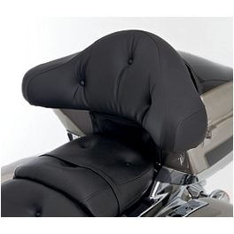 Kawasaki Genuine Accessories Pillow Top Trunk Backrest - Standard - Biker's Choice Saddlebag Latch Cover