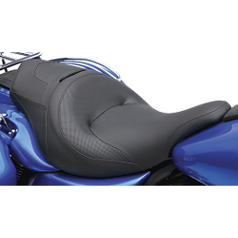 Kawasaki Genuine Accessories Solo Heated Seat - Baron Liner Pullback Risers