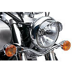 Kawasaki Genuine Accessories Headlight Visor - Kawasaki OEM Parts Cruiser Lighting