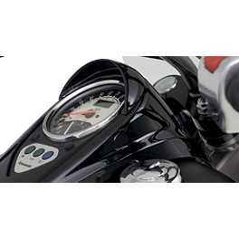 Kawasaki Genuine Accessories Speedometer Visor - Black - Kawasaki Genuine Accessories Radiator Cover - Black