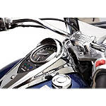 Kawasaki Genuine Accessories Speedometer Visor - Chrome - Kawasaki OEM Parts Cruiser Dash and Gauges