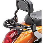Kawasaki Genuine Accessories Luggage Rack - Black - Kawasaki OEM Parts Cruiser Luggage and Racks