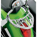 Kawasaki Genuine Accessories Luggage Rack - Chrome - Kawasaki OEM Parts Cruiser Luggage and Racks