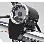 Kawasaki Genuine Accessories Mini Tachometer - Black -  Cruiser Dash and Gauges