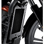Kawasaki Genuine Accessories Radiator Cover - Black - Kawasaki OEM Parts Cruiser Engine Parts and Accessories
