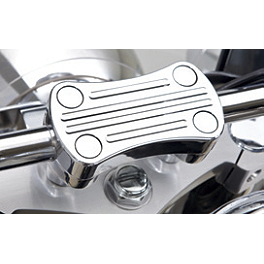 Kawasaki Genuine Accessories Billet Handlebar Clamp - Chrome - 2011 Kawasaki Vulcan 1700 Classic - VN1700E Kuryakyn Rear Caliper Cover