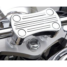 Kawasaki Genuine Accessories Billet Handlebar Clamp - Chrome - 2009 Kawasaki Vulcan 900 Classic - VN900B Kuryakyn Rear Caliper Cover