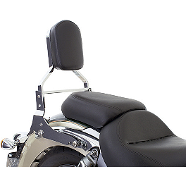 Kawasaki Genuine Accessories KQR Passenger Backrest Kit - Kawasaki Genuine Accessories Backrest Frame