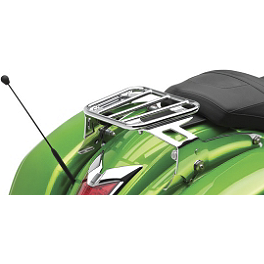 Kawasaki Genuine Accessories KQR Solo Luggage Rack - Kawasaki Genuine Accessories KQR Luggage Rack