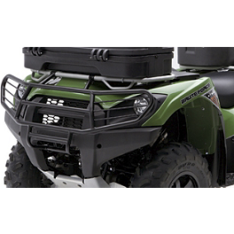 Kawasaki Genuine Accessories Full Coverage Brush Guard - Black - 2011 Kawasaki BRUTE FORCE 750 4X4i (IRS) Moose Utility Front Bumper
