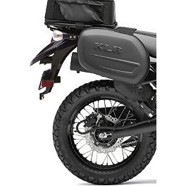 Kawasaki Genuine Accessories Saddlebags - 2008 Kawasaki KLR650 Moose Adventure Windscreen