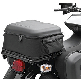 Kawasaki Genuine Accessories Expandable Soft Top Case - 2008 Kawasaki KLR650 Moose Adventure Windscreen
