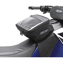 Kawasaki Genuine Accessories Tank Bag - 2008 Kawasaki KLR650 Kawasaki Genuine Accessories Handlebar Bag