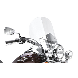 Kawasaki Genuine Accessories Replacement Windshield Plastic - 2011 Kawasaki Vulcan 900 Classic - VN900B Kawasaki Genuine Accessories Sport Windshield Kit