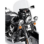 Kawasaki Genuine Accessories Replacement Sport Windshield Plastic - Kawasaki OEM Parts Cruiser Wind Shield and Accessories