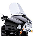 "Kawasaki Genuine Accessories 16"" Windshield - Clear - Kawasaki OEM Parts Cruiser Wind Shield and Accessories"
