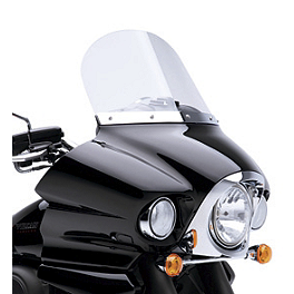 "Kawasaki Genuine Accessories 14"" Windshield - Clear - Kawasaki Genuine Accessories 16"