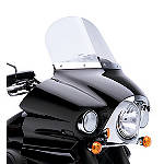 "Kawasaki Genuine Accessories 14"" Windshield - Clear - Cruiser Products"