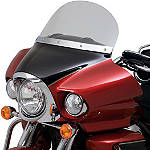 "Kawasaki Genuine Accessories 12"" Windshield - Clear - Kawasaki OEM Parts Cruiser Wind Shield and Accessories"