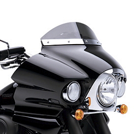Kawasaki Genuine Accessories Smoked Wind Deflector - Kawasaki Genuine Accessories 16
