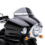 Kawasaki Genuine Accessories Smoked Wind Deflector - Kawasaki OEM Parts Cruiser Wind Shield and Accessories