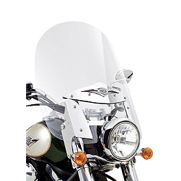 Kawasaki Genuine Accessories KQR Windshield Kit - Kawasaki Genuine Accessories KQR Backrest Kit With Pad