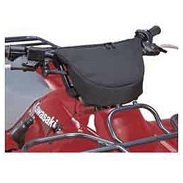 Kawasaki Genuine Accessories Handlebar Bag - Black - 2003 Kawasaki BAYOU 250 2X4 Kawasaki Genuine Accessories Seat Cover - Mossy Oak