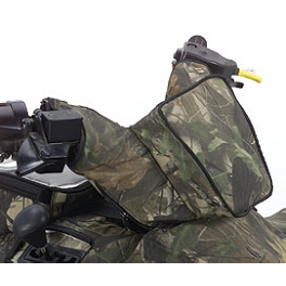 Kawasaki Genuine Accessories Handlebar Bag - Realtree - Kawasaki Genuine Accessories Rear Fender Bag - Black