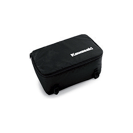 Kawasaki Genuine Accessories Cooler Bag - Kawasaki Genuine Accessories Rear Bumper - Brushed Aluminum