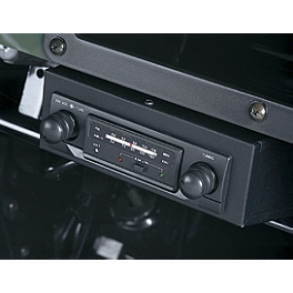 Kawasaki Genuine Accessories Surface Mount Radio - 2012 Kawasaki MULE 600 Kawasaki Genuine Accessories Soft Enclosure - Black