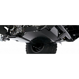 Kawasaki Genuine Accessories Rear Skid Plate Adapter - Yamaha Genuine OEM Baja Front Grab Bar - Blue
