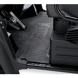 Kawasaki Genuine Accessories Rear Floor Mat - 2010 Kawasaki MULE 4010 TRANS 4X4 DIESEL Kawasaki Genuine Accessories Storage Cover