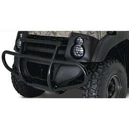 Kawasaki Genuine Accessories Brush Guard Bumper - 2012 Kawasaki MULE 610 4X4 XC Kawasaki Genuine Accessories Underseat Storage Bin