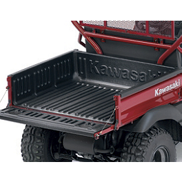 Kawasaki Genuine Accessories Slip-Resistant Bed Liner - 2008 Kawasaki MULE 610 4X4 Kawasaki Genuine Accessories Underseat Storage Bin