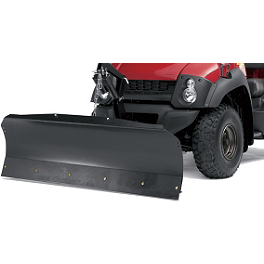 Kawasaki Genuine Accessories Complete Plow Kit - 2010 Kawasaki MULE 610 4X4 Kawasaki Genuine Accessories Middle Skid Plate