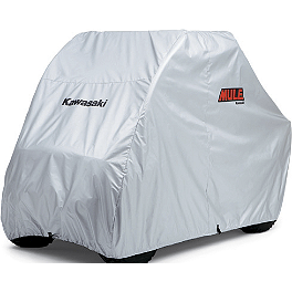 Kawasaki Genuine Accessories Storage Cover - 2007 Kawasaki MULE 610 4X4 Kawasaki Genuine Accessories Underseat Storage Bin