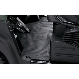 Kawasaki Genuine Accessories Floor Mat - 2008 Kawasaki MULE 610 4X4 Kawasaki Genuine Accessories Underseat Storage Bin