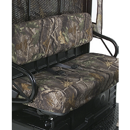 Kawasaki Genuine Accessories Camo Seat Cover - 2010 Kawasaki MULE 600 Kawasaki Genuine Accessories Underseat Storage Bin